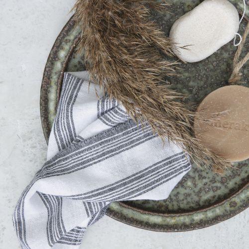 meraki / Bavlnené handričky na upratovanie Hammam White - 3ks