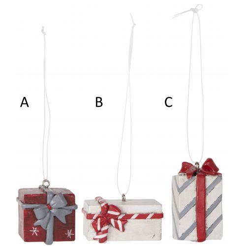 IB LAURSEN / Závesná vianočná dekorácia Gift