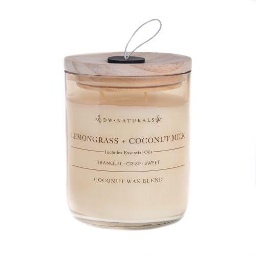 dw HOME / Vonná sviečka v skle Lemongrass and Coconut Milk 500g