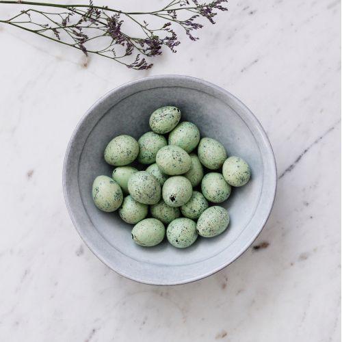IB LAURSEN / Dekoratívne prepeličie vajíčka Green - 20 ks