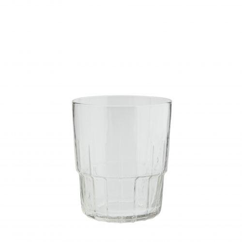 MADAM STOLTZ / Pohár Clear Glass Stripes