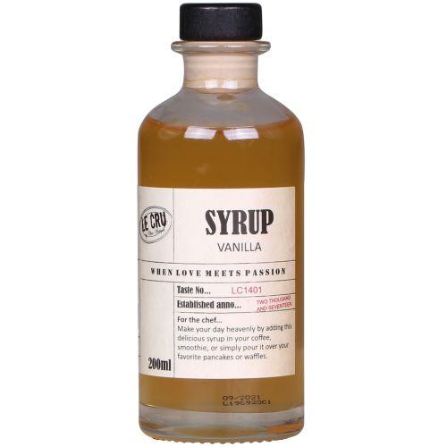 LE CRU Delicacies / Sirup Vanilka 200ml