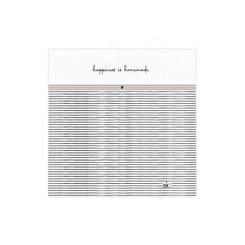 Bastion Collections / Papierové servítky Happiness Is Homemade 20 ks
