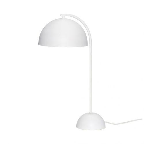 Hübsch / Stolná biela lampa