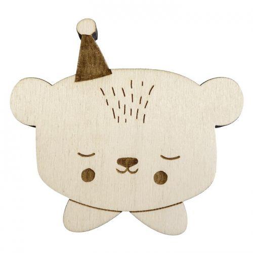 EEF lillemor / Detský drevený vešiak Circus Bear