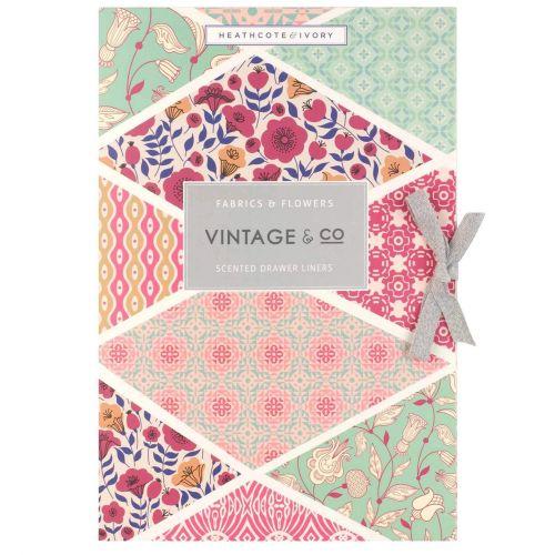 HEATHCOTE & IVORY / Vonné listy do skrine Fabrics & Flowers - 6 archů