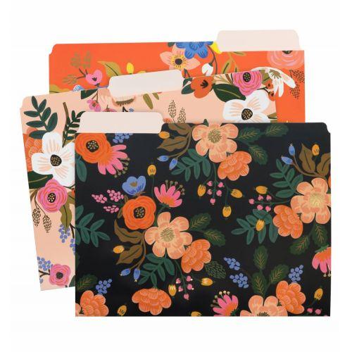 Rifle Paper Co. / Papierové zložky Lively Floral - set 6 ks