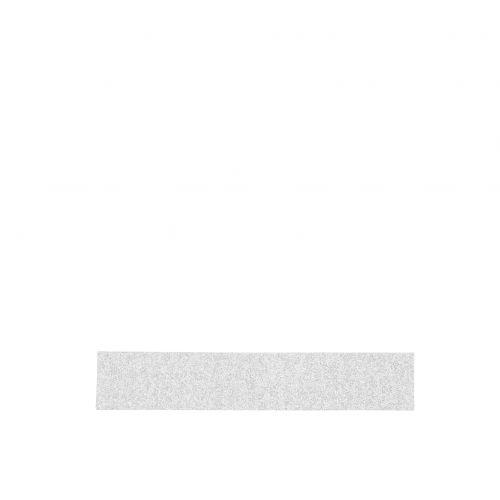 MADAM STOLTZ / Dizajnová samolepiaca páska Glitter silver