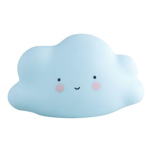 A Little Lovely Company / Nočná LED lampička Mini Cloud Blue