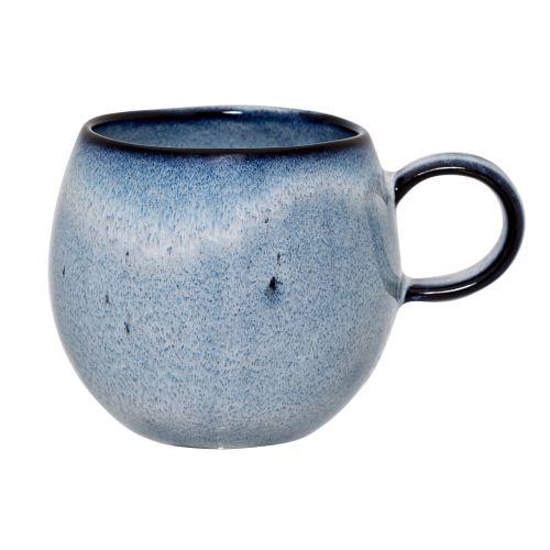 Bloomingville / Keramický hrnček Sandrine Blue - menší
