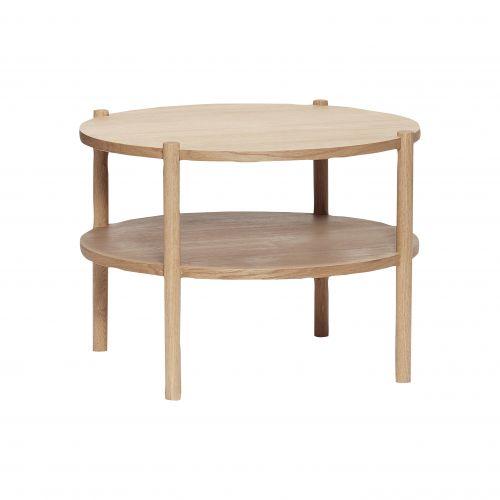Hübsch / Okrúhly stolček Round Oak