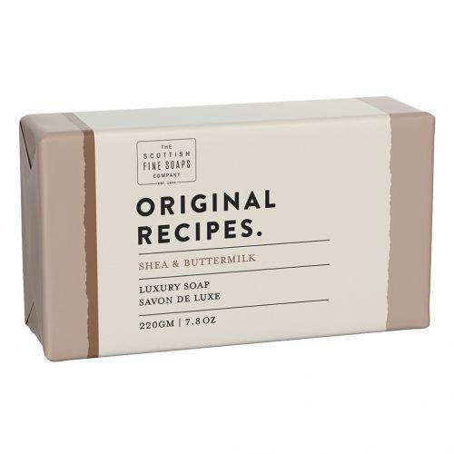 SCOTTISH FINE SOAPS / Luxusné tuhé mydlo Bambucké maslo a cmar - 220g