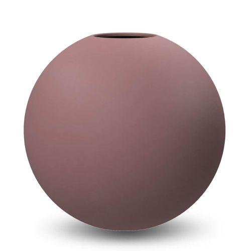 COOEE Design / Guľatá váza Ball Cinder Rose 20 cm