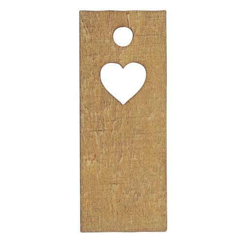 IB LAURSEN / Drevený štítok na darčeky Heart