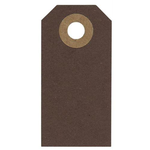 IB LAURSEN / Štítok na darčeky Brown - Set 20 ks