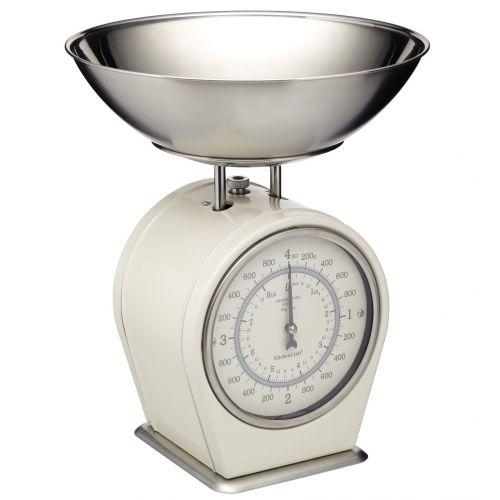 Kitchen Craft / Mechanická kuchynská váha Cream - 4 kg
