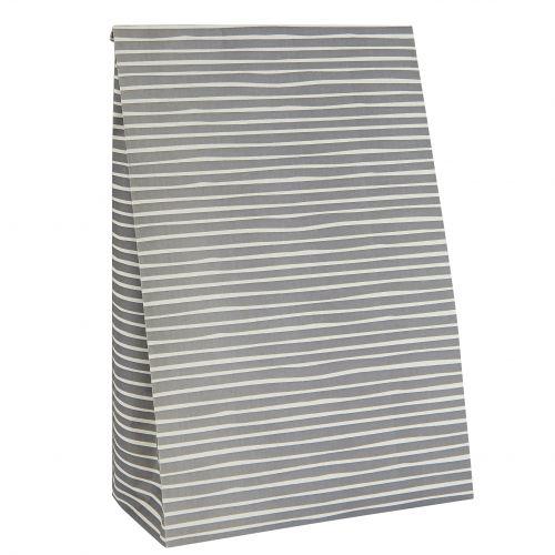 IB LAURSEN / Papierový sáčok Stripe Grey L