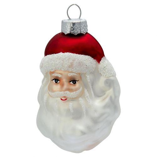 GREEN GATE / Vianočná ozdoba Santa White Beard