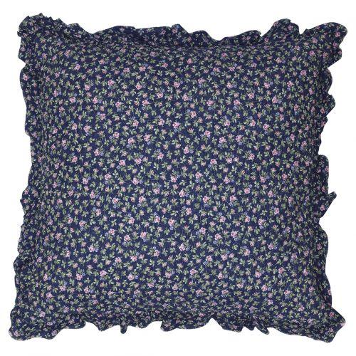 GREEN GATE / Obliečka na vankúš Berta Dark Blue 50x50cm
