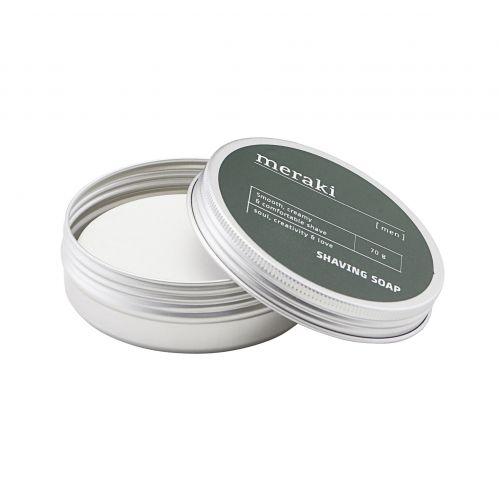 meraki / Hydratačné mydlo na holenie pre mužov Men 70g