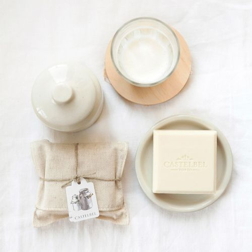 CASTELBEL / Luxusné mydlo s vôňou harmančeka a kozím mliekom