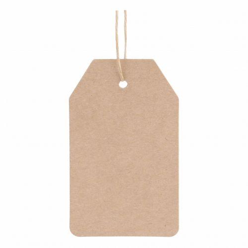 Chic Antique / Papierový štítok Simply 9x5,5cm