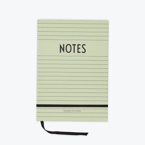 DESIGN LETTERS / Zelený zápisník Notes