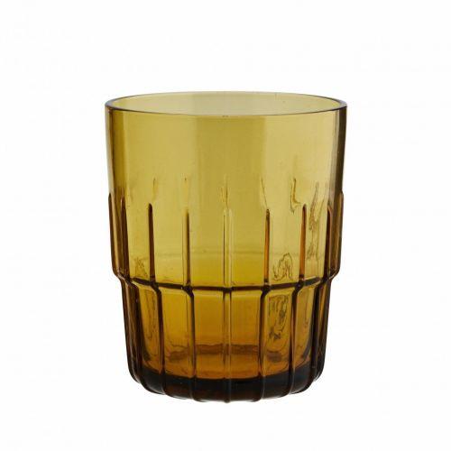 MADAM STOLTZ / Pohár Amber Glass
