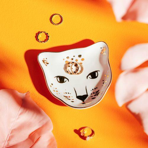 sass & belle / Porcelánový tanierik na šperky Leopard Love