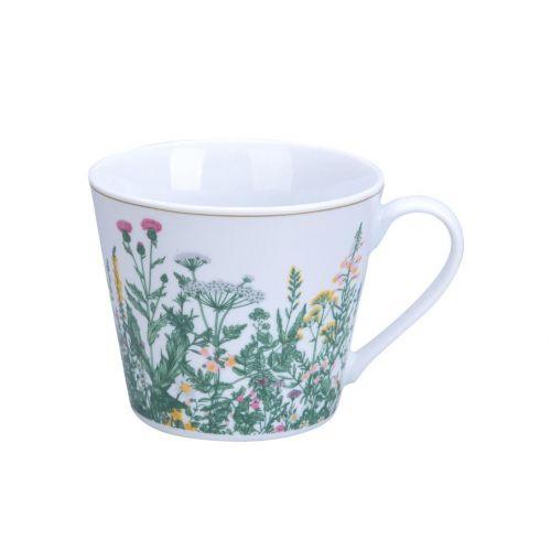 Krasilnikoff / Porcelánový hrnček Botanica