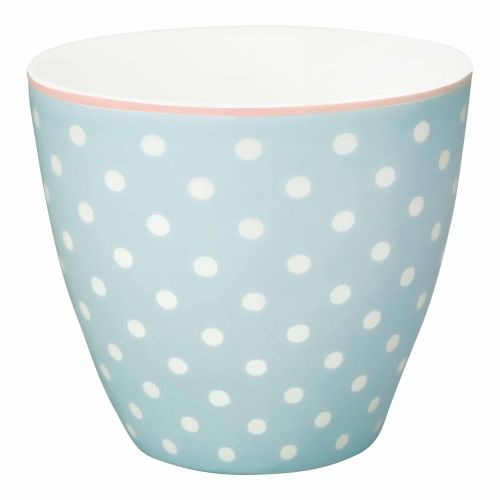 Green Gate / Latte cup spot Pale blue