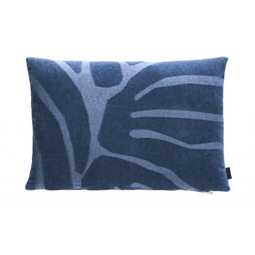 OYOY / Vankúš Roa Flint stone blue 40x60 cm