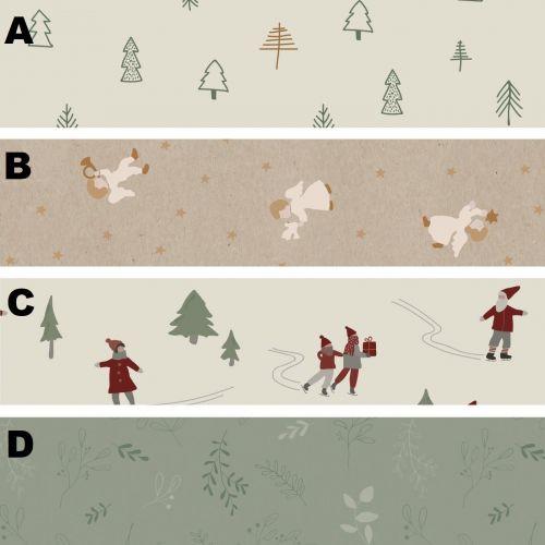 IB LAURSEN / Baliaci papier Christmas - 5 m