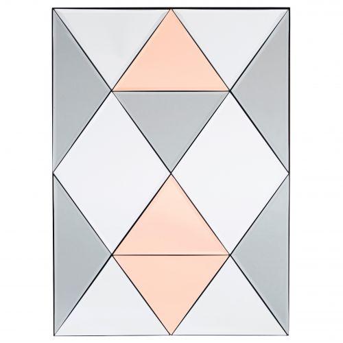 House Doctor / Nástenné zrkadlo Rhomb