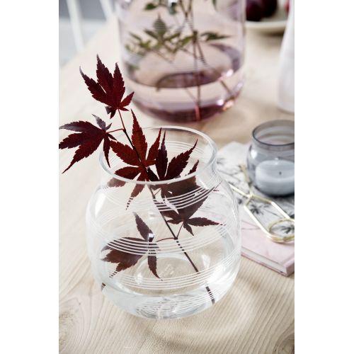 KÄHLER / Sklenená váza Omaggio Transparent 17 cm