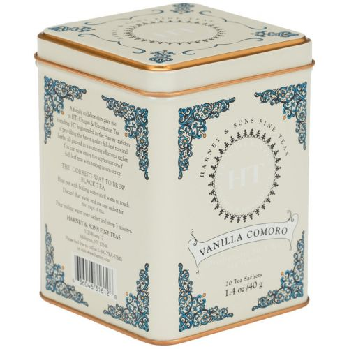 HARNEY & SONS / Černý čaj Vanilla Comoro
