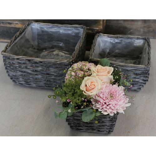 Chic Antique / Obal na kvetiny z prútia