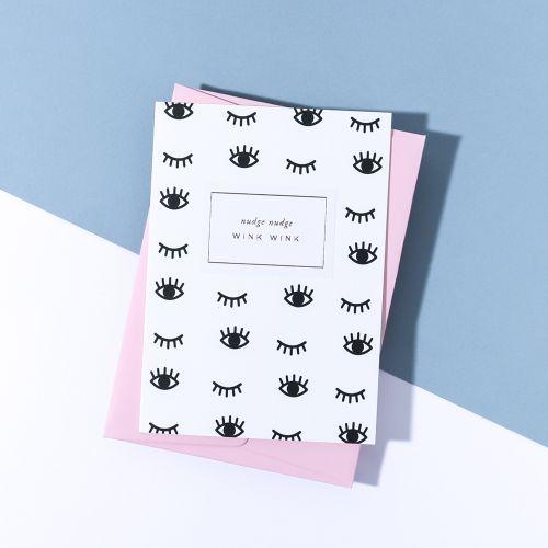 À L'AISE / Papierové prianie s obálkou Nudge Wink