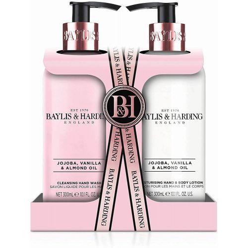 Baylis & Harding / Sada pre starostlivosť o ruky Jojoba, Vanilla & Almond Oil - 2x300ml