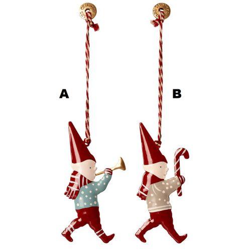 Maileg / Závesná vianočná ozdoba Pixy