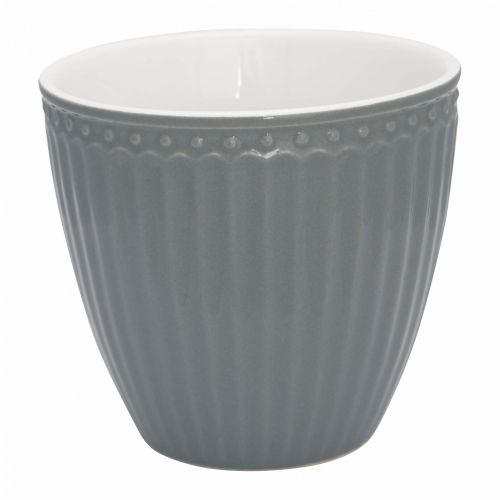GREEN GATE / Latte cup Alice Stone Grey