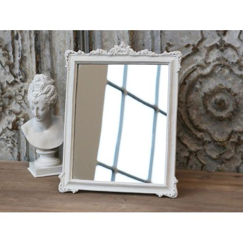 Chic Antique / Zrkadlo v drevenom ráme Rose Edge