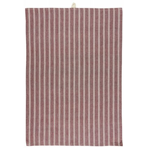 IB LAURSEN / Bavlnená utierka Red/ White Stripes