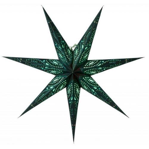watt & VEKE / Závesná svietiaca hviezda Ebba Green 80 cm