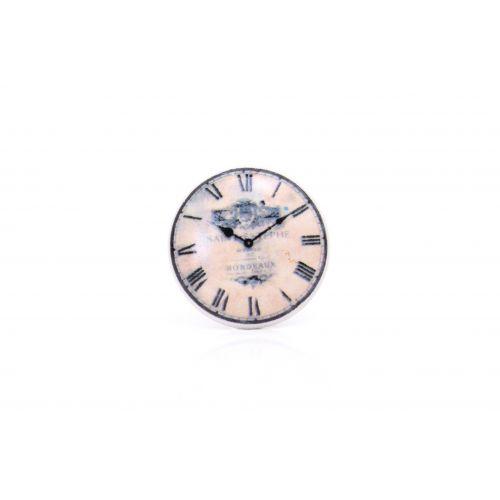 La finesse / Porcelánová úchytka Clock