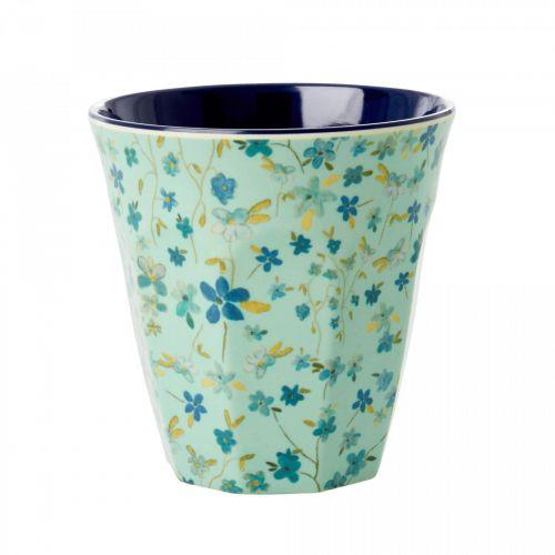 rice / Melamínový pohárik Blue Floral 250 ml