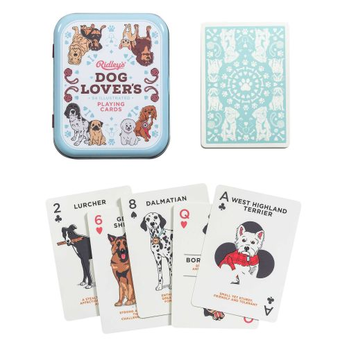 Ridley's Games Room / Kartová hra Dog Lover's Playing Cards