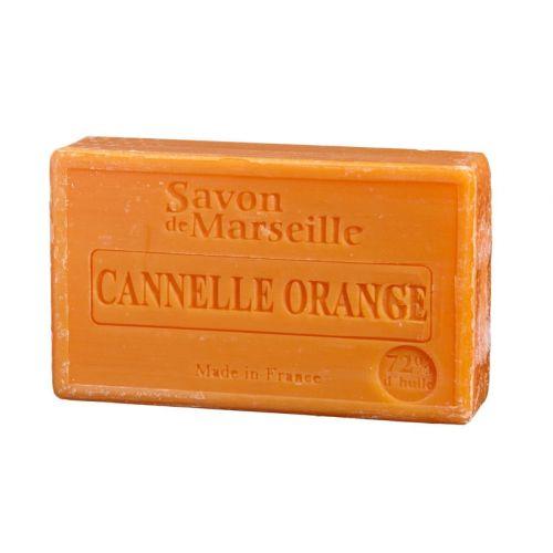 LE CHATELARD / Marseillské mydlo 100 g - škorica a pomaranč