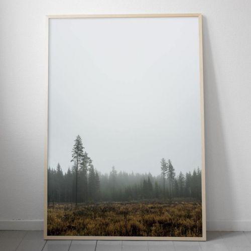 Fine Little Day / Plagát škandinávskeho lesa Skog 70 x 100 cm