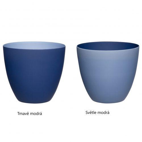 Hübsch / Porcelánový svietnik Deep Blue - dva druhy